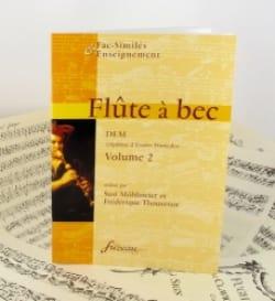Flûte à bec, DEM - Volume 2 laflutedepan
