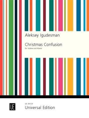 Christmas Confusion Aleksey Igudesman Partition Violon - laflutedepan
