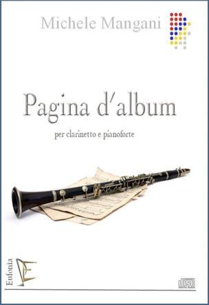 Pagina d'album Michele Mangani Partition Clarinette - laflutedepan