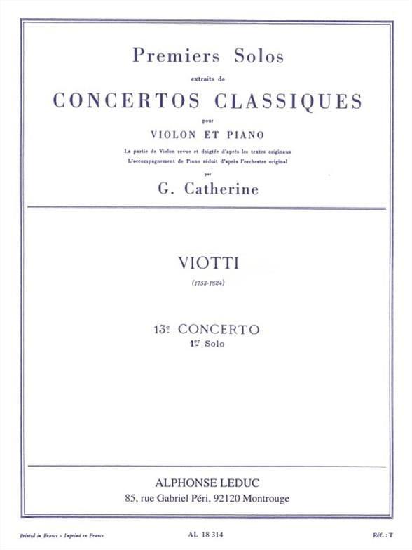 1er solo du Concerto n° 13 - laflutedepan.com