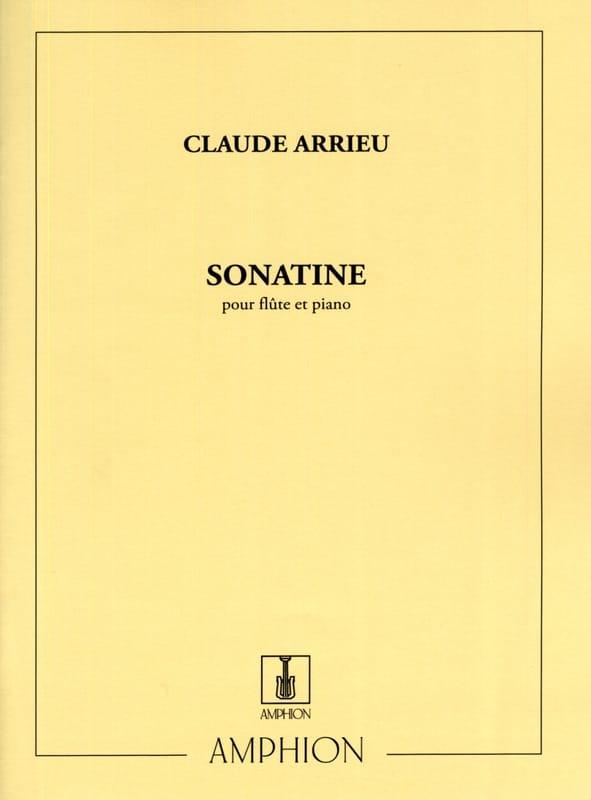 Sonatine - Claude Arrieu - Partition - laflutedepan.com