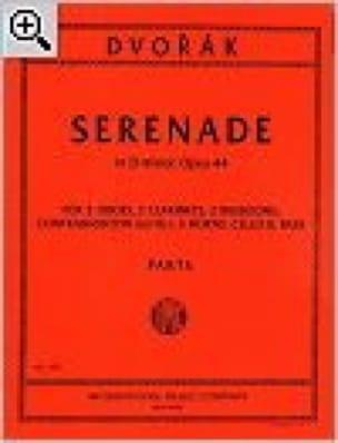 Sérénade In D Min. Ré Min., Op. 44 - 10 Vents-Cello-Contrebasse - laflutedepan.com