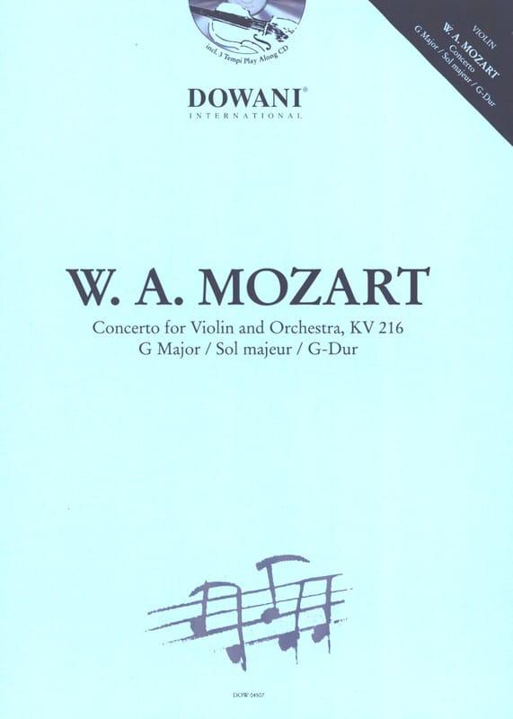 Concerto en sol majeur KV 216 - MOZART - Partition - laflutedepan.com