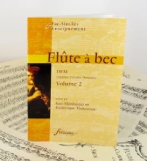 Flûte à bec, DEM - Volume 2 - laflutedepan.com