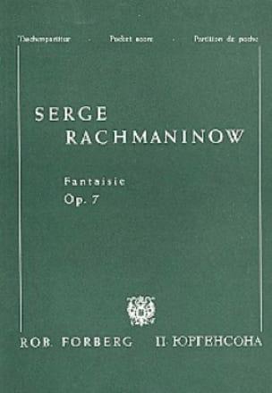 Fantaisie Opus 7 - Partitur - RACHMANINOV - laflutedepan.com