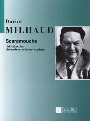 Scaramouche - Clarinette MILHAUD Partition Clarinette - laflutedepan