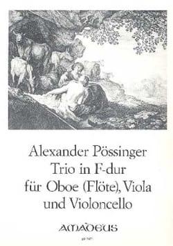 Trio in F-Dur -Oboe Flöte Viola Violoncello laflutedepan
