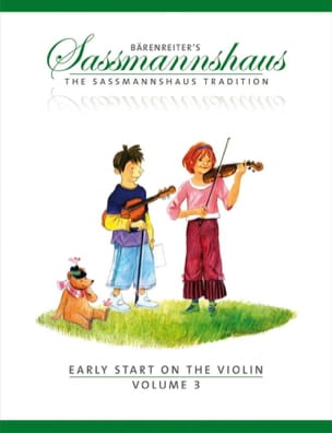 Egon Sassmannshaus - Early Start on the Violin - Volume 3 - Partition - di-arezzo.co.uk