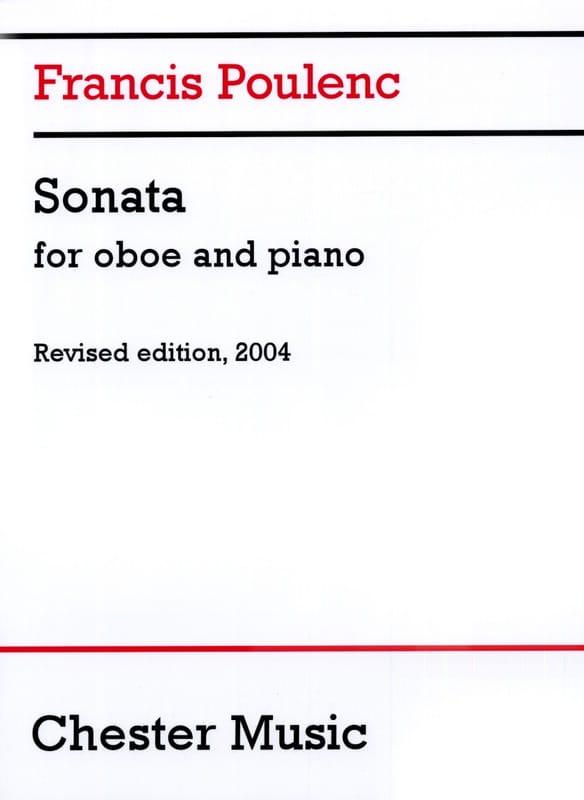Sonate - Hautbois et piano - POULENC - Partition - laflutedepan.com