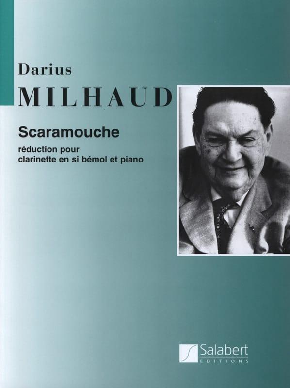 Scaramouche - Clarinette - MILHAUD - Partition - laflutedepan.com