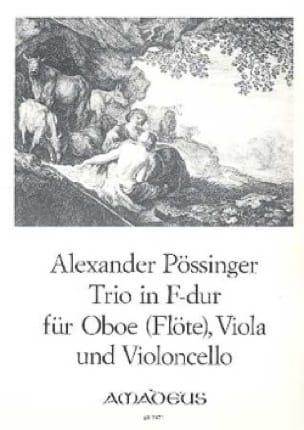Trio in F-Dur -Oboe Flöte Viola Violoncello - laflutedepan.com