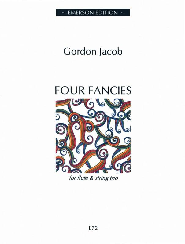 4 Fancies -Flute String trio - Gordon Jacob - laflutedepan.com