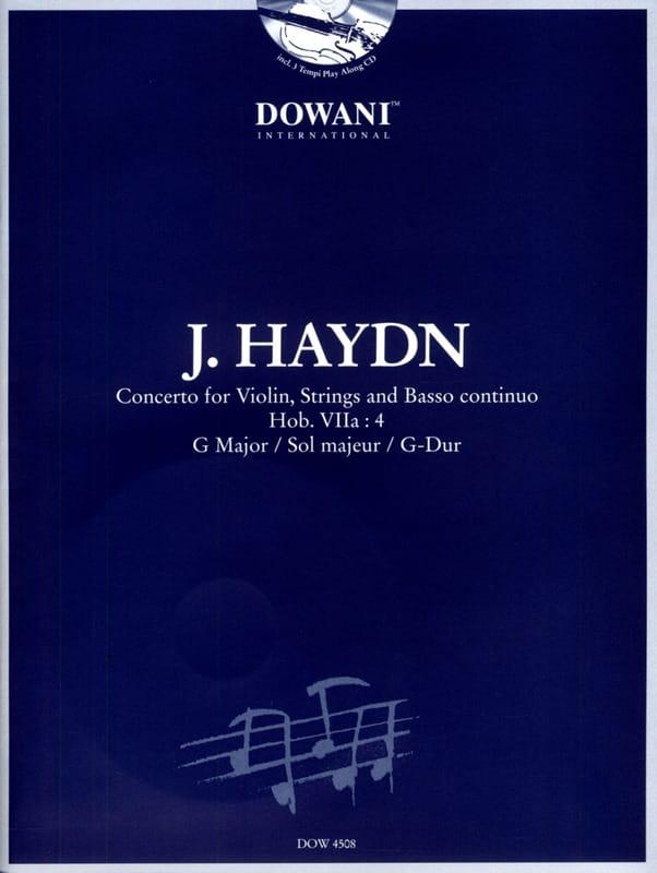 Concerto Violon sol majeur Hob. 7a : 4 - HAYDN - laflutedepan.com