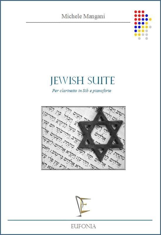 Jewish Suite - Michele Mangani - Partition - laflutedepan.com