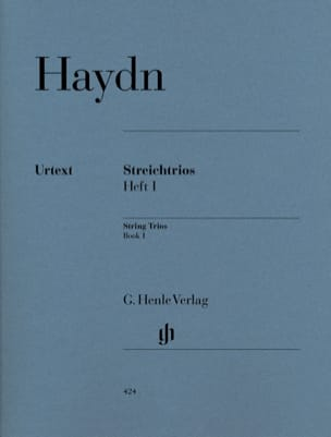 Trios à cordes, volume 1 HAYDN Partition Trios - laflutedepan