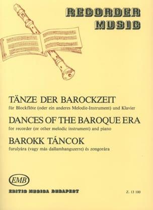 Tänze der Barockzeit -Blockflöte u. Klavier Oliver Nagy laflutedepan