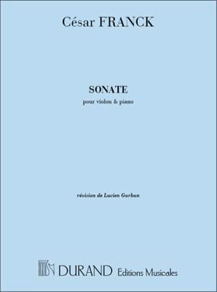 Sonate en la majeur - Violon FRANCK Partition Violon - laflutedepan