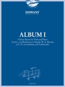 Album 1 - Viola Leonid Leibowitsch Partition Alto - laflutedepan
