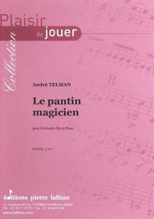 Le Pantin Magicien André Telman Partition Clarinette - laflutedepan