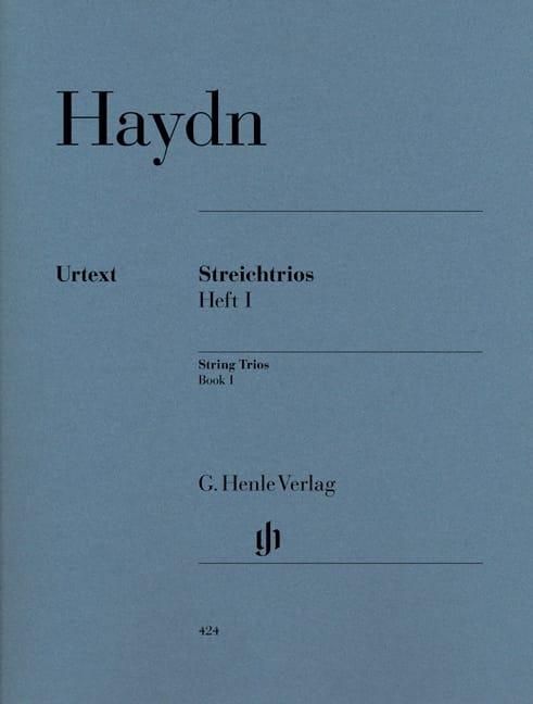 Trios à cordes, volume 1 - HAYDN - Partition - laflutedepan.com