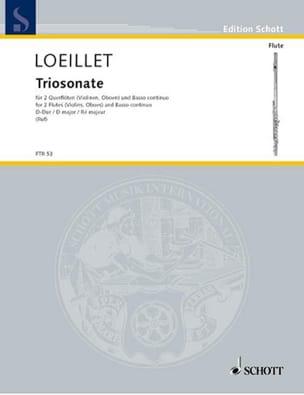 Triosonate D-Dur op. 1 n° 4 -2 Flöten Bc laflutedepan