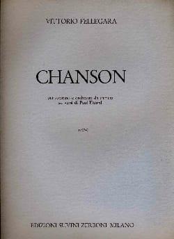 Chanson Vittorio Fellegara Partition Grand format - laflutedepan