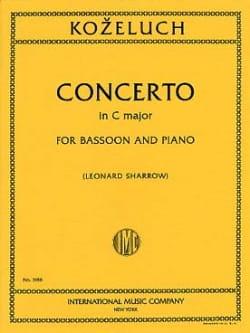 Concerto in C major -Bassoon piano Johann Anton Kozeluch laflutedepan