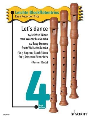 Let's Dance Vol.4 - Easy Recorder Trio Partition laflutedepan