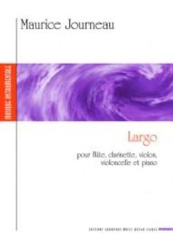 Largo pour flûte, clarinette, violon, violoncelle et piano laflutedepan