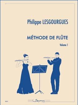 Méthode de Flûte - Volume 1 Philippe Lesgourgues laflutedepan