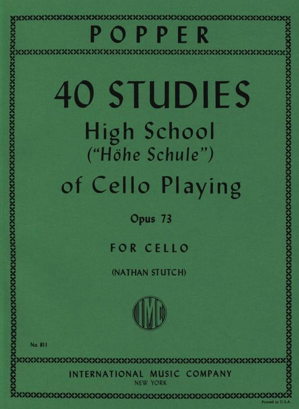 40 Studies - High school of cello playing op. 73 - laflutedepan.com