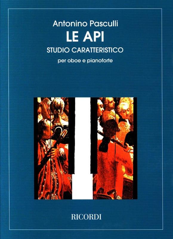 Le Api - Antonino Pasculli - Partition - Hautbois - laflutedepan.com
