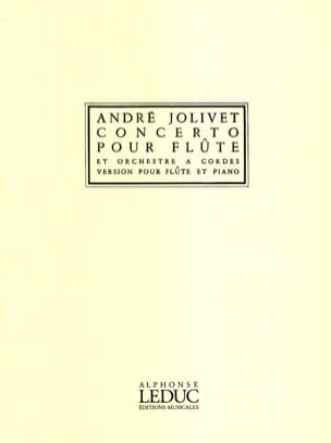 Concerto Pour Flûte André Jolivet Partition laflutedepan
