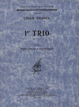 Trio op. 1 n° 1 -Parties FRANCK Partition Trios - laflutedepan