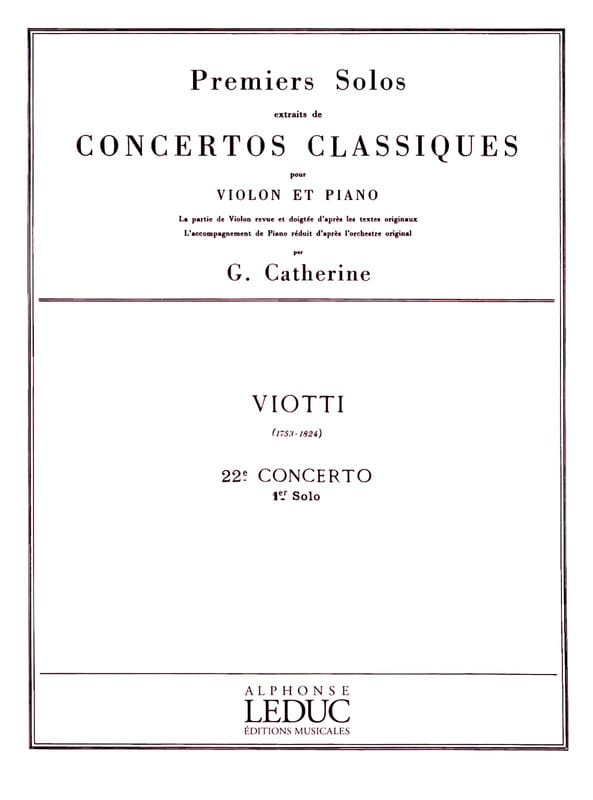 1er solo du Concerto n° 22 - laflutedepan.com