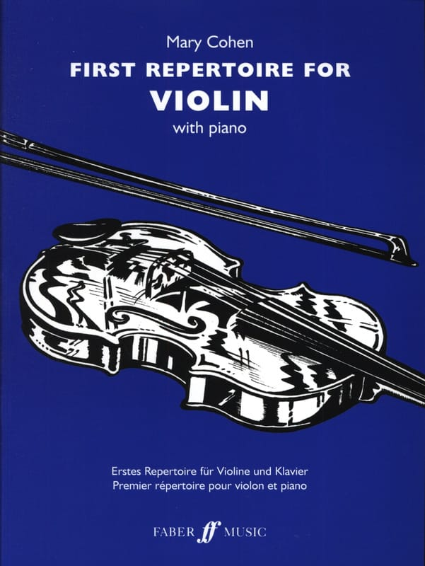 First Repertoire for Violon - Mary Cohen - laflutedepan.com