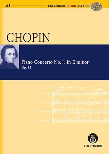 Concerto Pour Piano N°1 En Mi Min. Op.11 - CHOPIN - laflutedepan.com