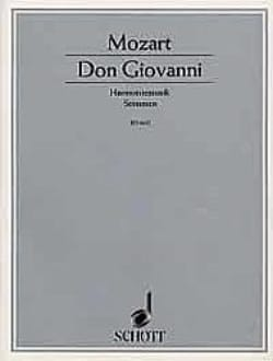 Don Giovanni - Harmoniemusik - Stimmen MOZART Partition laflutedepan