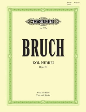 Kol Nidrei op. 47 - Alto BRUCH Partition Alto - laflutedepan