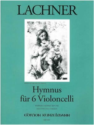 Hymnus für 6 Violoncelli Franz Lachner Partition laflutedepan