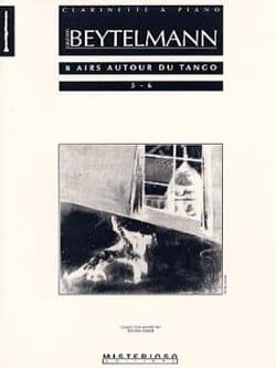 8 Airs Autour du Tango Volume 3 Gustavo Beytelmann laflutedepan