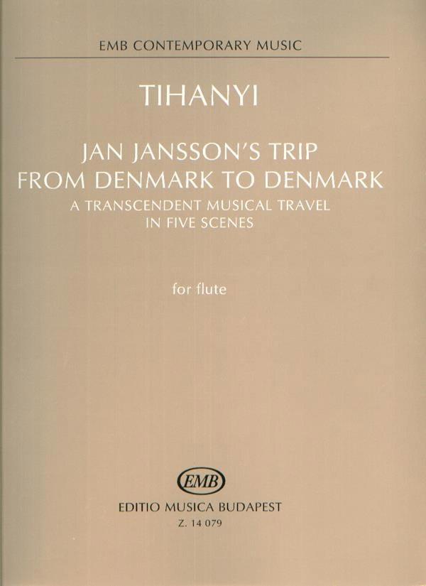Jan Jansson's trip from Denmark to Denmark - laflutedepan.com