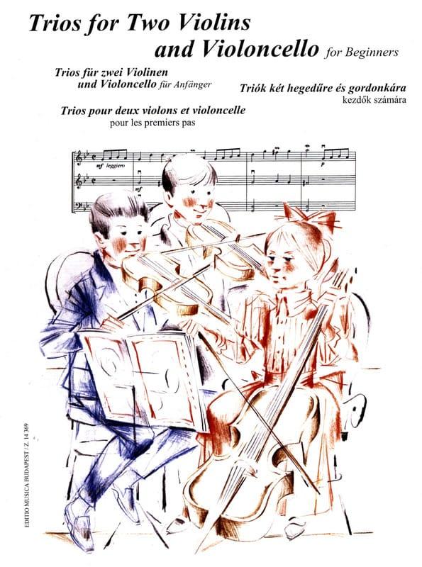 Trios 2 Violons et Violoncelle pour les Premiers Pas - laflutedepan.com