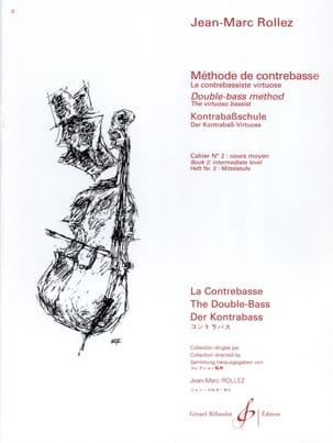 Jean-Marc Rollez - Método de contrabajo Volumen 2 - Partition - di-arezzo.es