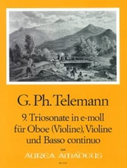 Triosonate Nr. 9 in e-moll -Oboe Violine Bc - laflutedepan.com