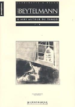 8 Airs Autour du Tango Volume 4 Gustavo Beytelmann laflutedepan