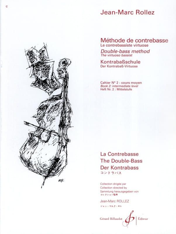 Méthode de Contrebasse Volume 2 - Jean-Marc Rollez - laflutedepan.com