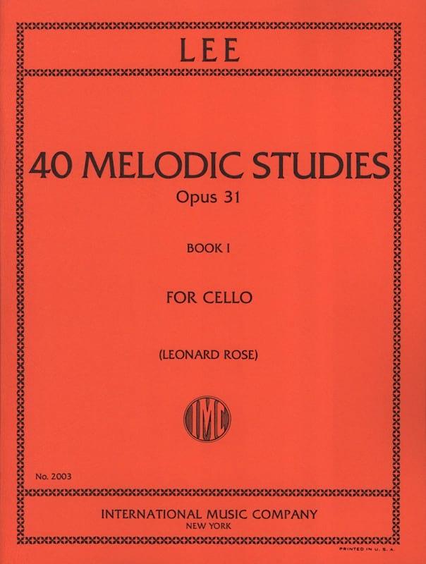 40 Melodic Studies op. 31 - Volume 1 - laflutedepan.com