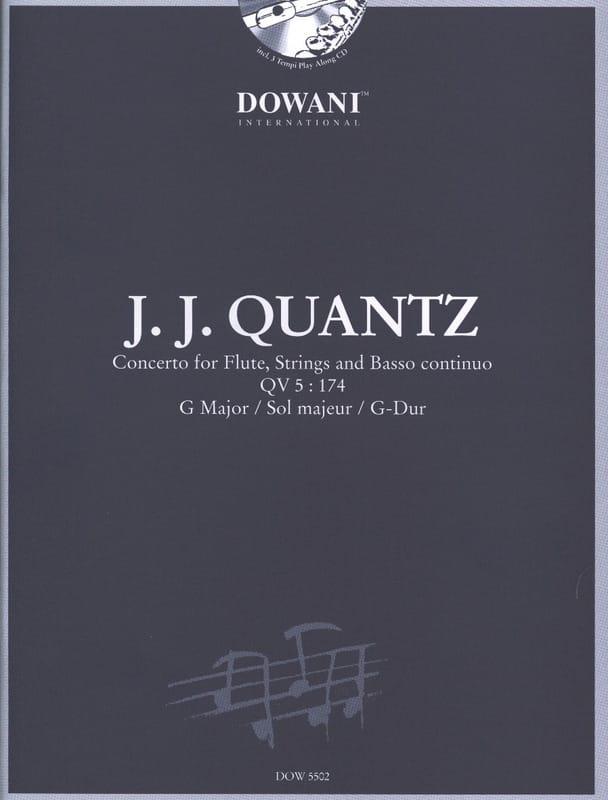 Concerto pour flûte QV 5:174 sol maj. - QUANTZ - laflutedepan.com