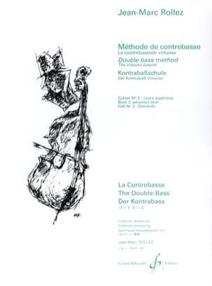 Jean-Marc Rollez - Método de contrabajo Volumen 3 - Partition - di-arezzo.es